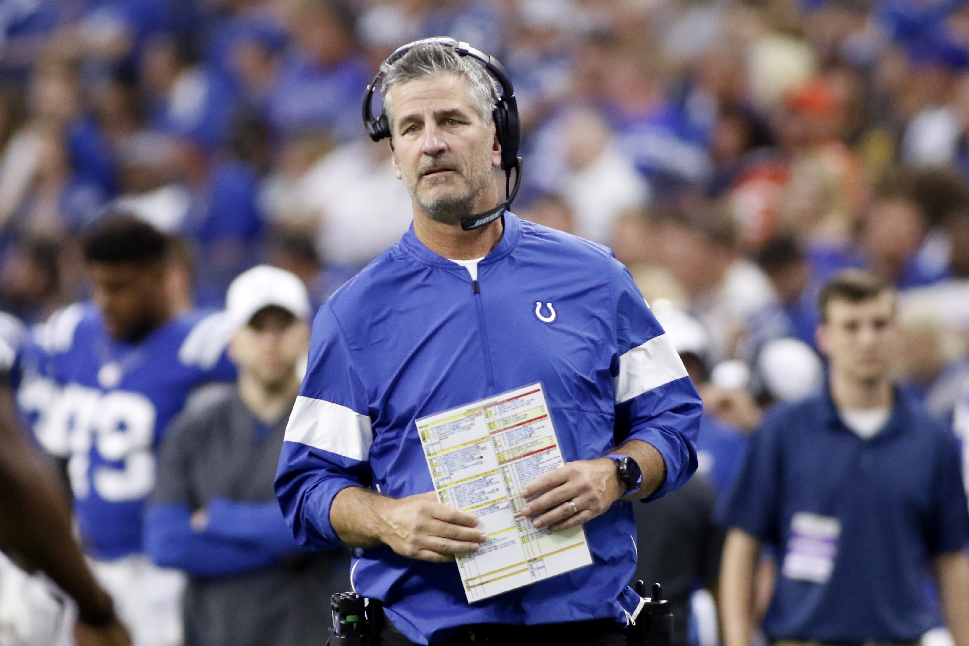 Colts: Indy couple literally got married by Frank Reich