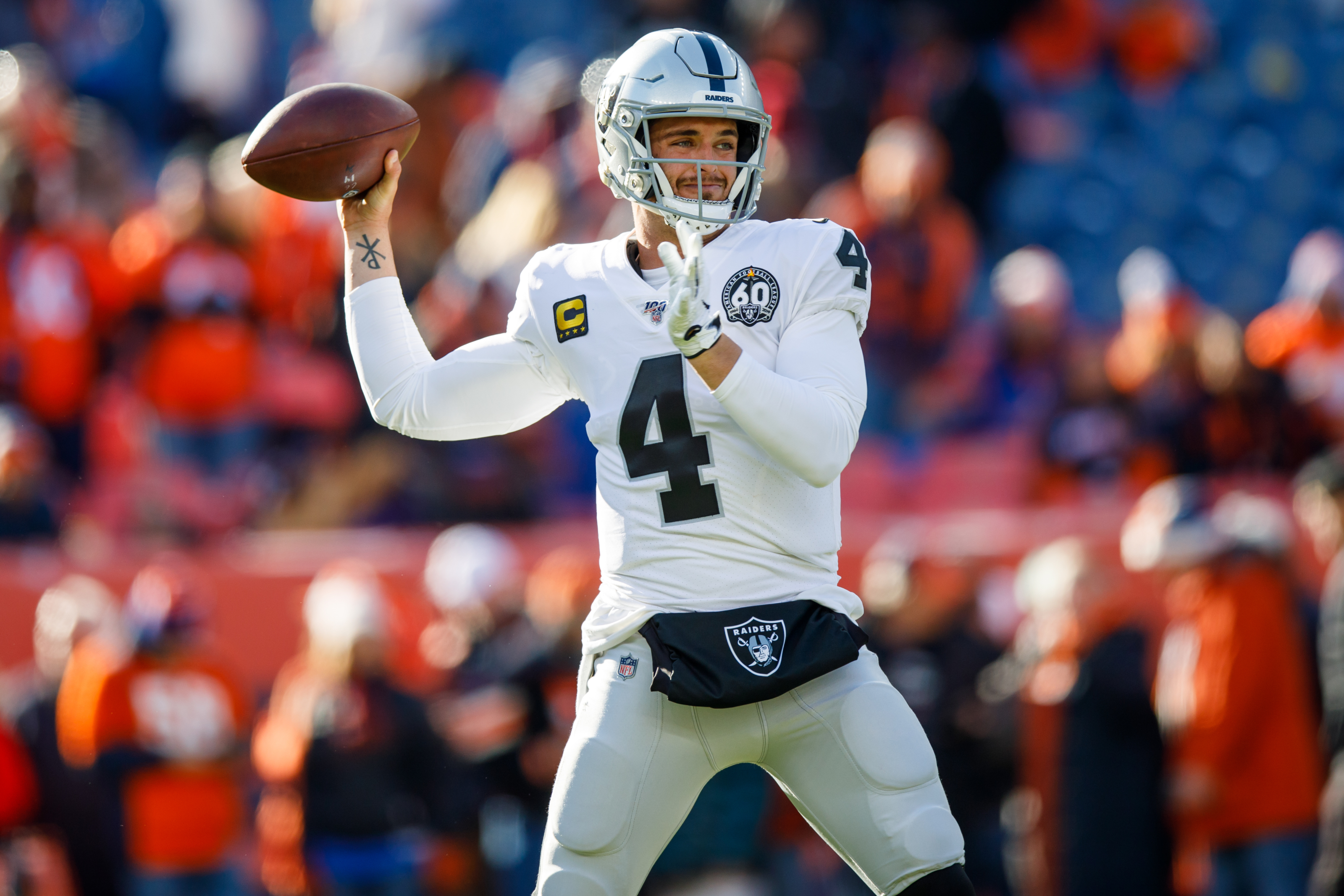 Colts showing interest in Raiders QB Derek Carr: Is he enough?