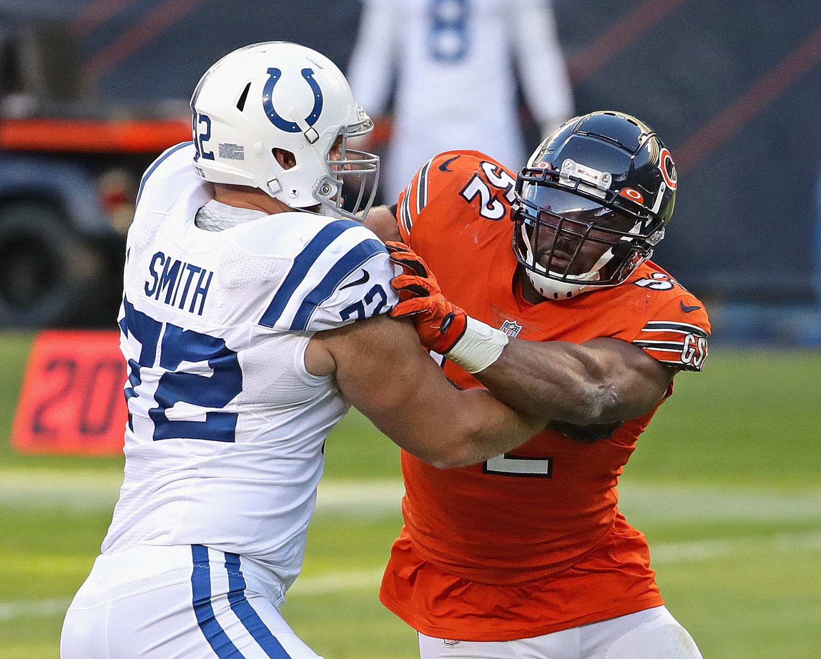 Colts sign Braden Smith to contract extension amid troubling COVID news